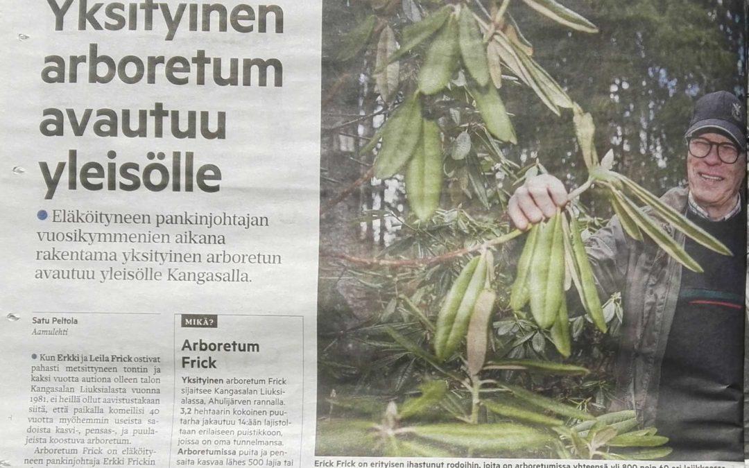 Arboretum Aamulehdessä